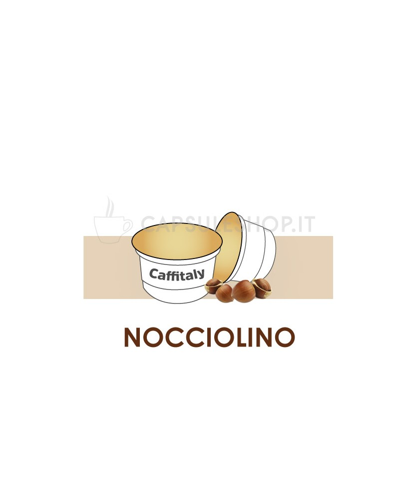 Nocciolino capsule Caffitaly aroma light