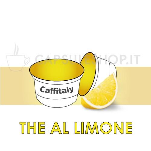 Soluble lemon black tea