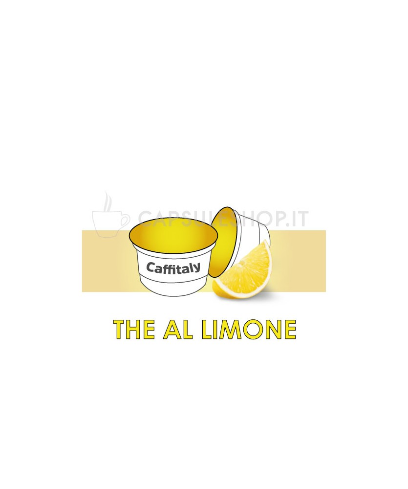 The al limone solubile capsule Caffitaly