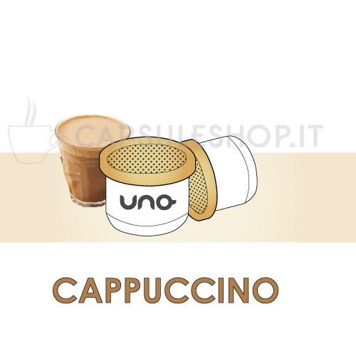 Capsule compatibili Uno System Cappuccino