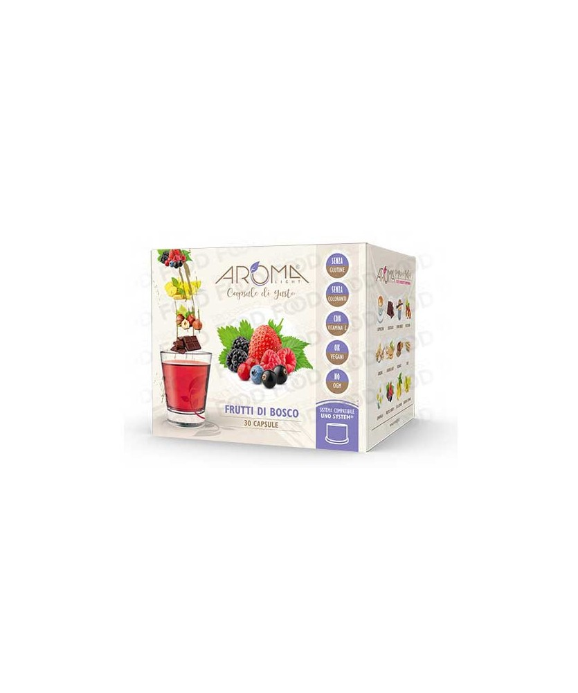capsule frutti di bosco UNO system