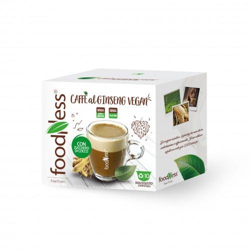 Veganistische Ginseng-koffie Dolce Gusto