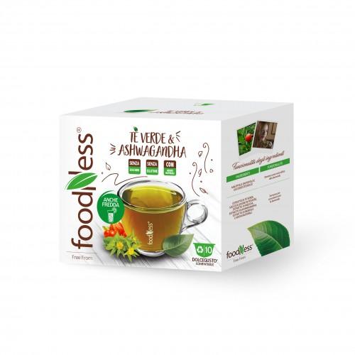 Groene thee en Ashwagandha dolce gusto