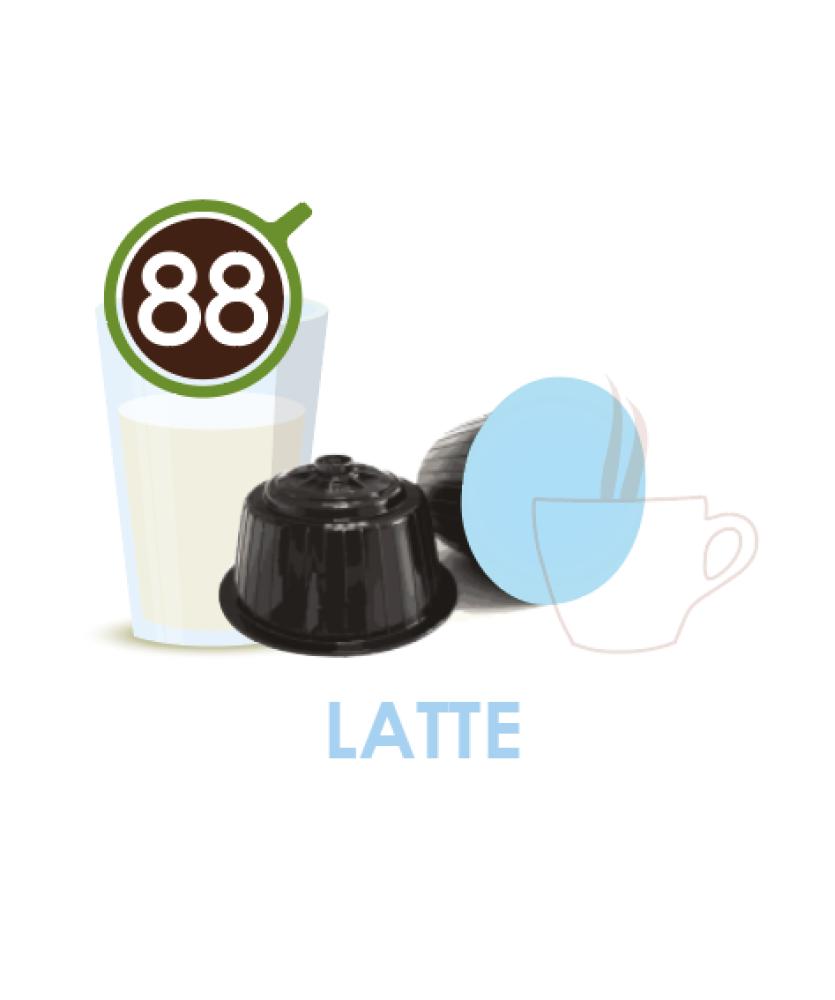 Latte in capsule Dolce Gusto