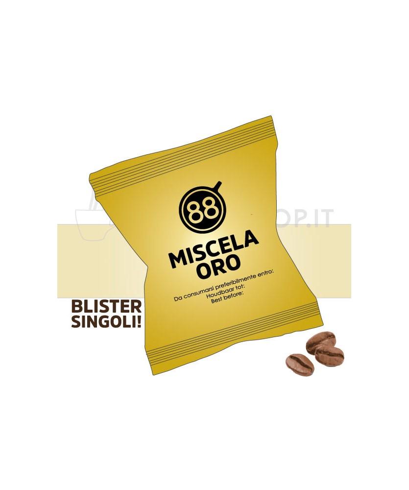 capsule compatibili nespresso miscela oro passione 88