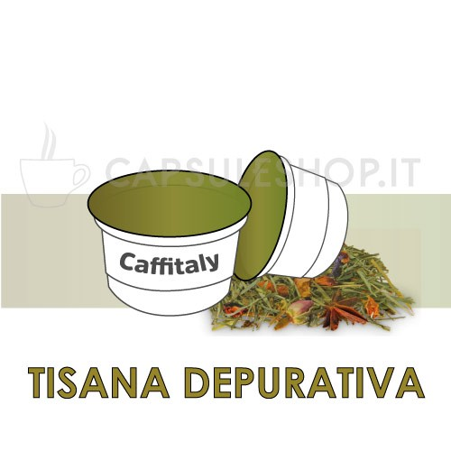 Purifying herbal tea for Caffitaly machines