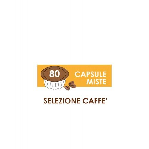 capsule compatibili dolce gusto passione 88 selezione caffe 80 capsule miste
