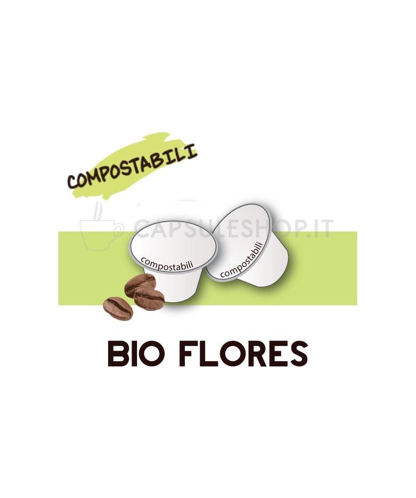 Passione 88 capsule compatibili nespresso compostabile bio flores